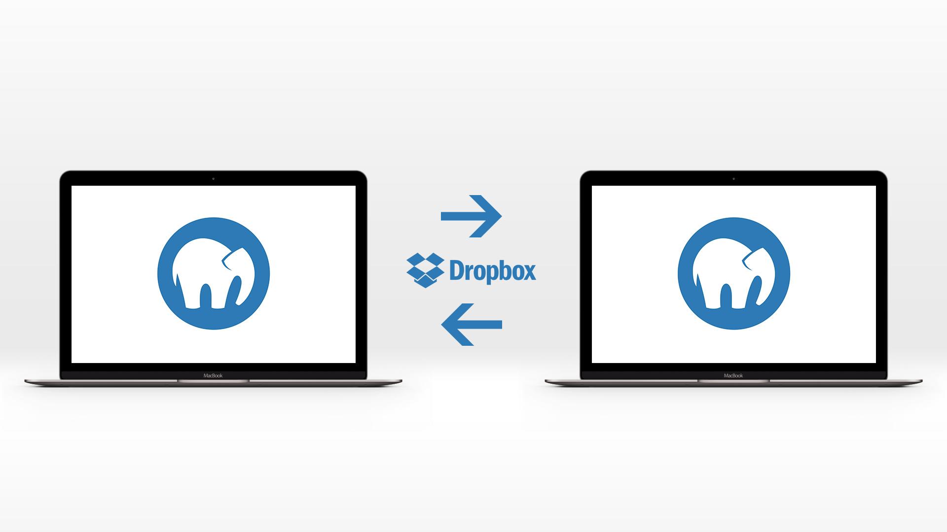 Synchronisation von MAMP Pro mit Dropbox